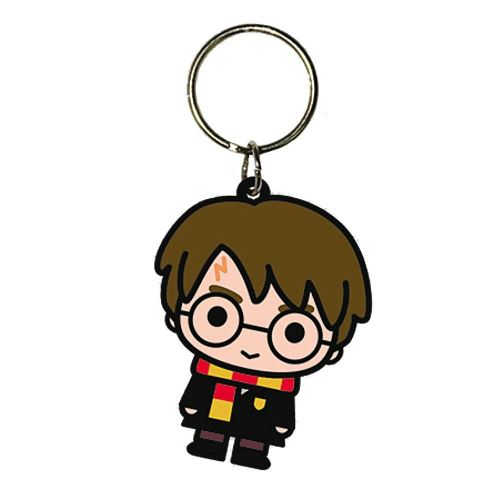 Harry Potter Character Chibi Keyring Rubber Keychain Fob